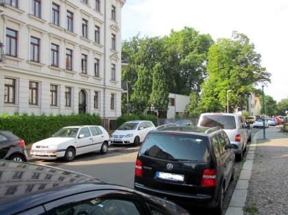 Herloßsohnstraße, Blick Richtung Rosental