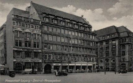 Sächsisches Tageblatt, Ansichtskarte aus den 1950ern