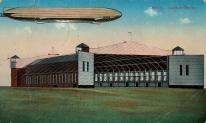 Leipzig, Luftschiffhalle, 1915