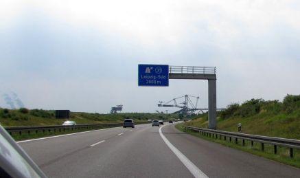 Tagebautechnik bei Leipzig-Süd
