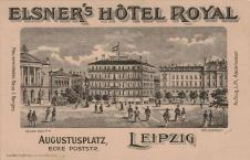 Elsner's Hôtel Royal am Augustusplatz