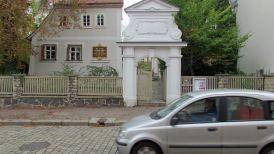 Schillerhäuschen in der Menckestraße