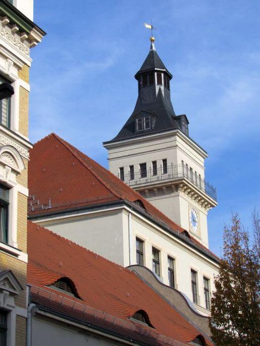 Turm der Turmschule (Schillergymnasium)