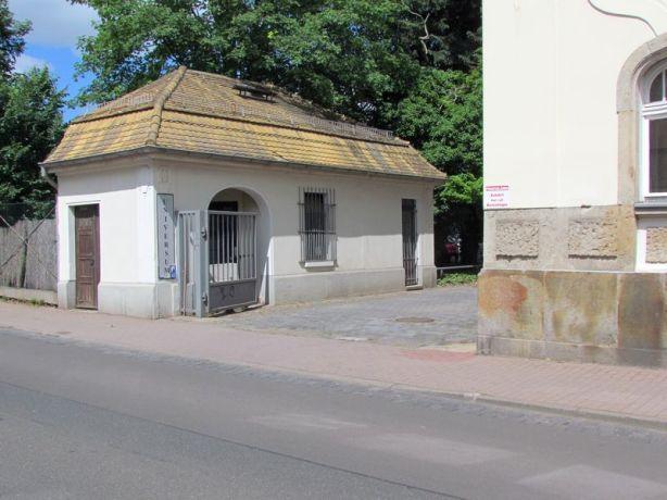 Pförtnerhäuschen in der Angerstraße 44
