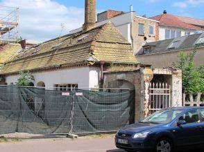 Pförtnerhäuschen in der mittleren Angerstraße