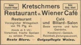 Aus dem Adressbuch von von 1909