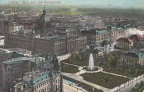 Reichsgericht auf einer 1914 verschickten Karte (Archiv Holger Schmelzer)