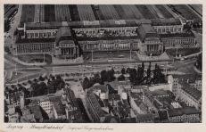 Hauptbahnhof, Fliegeraufnahme, 1942 (Archiv Holger Schmelzer)