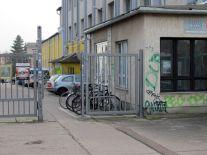 Doppelpförtner in der Zschocherschen Straße
