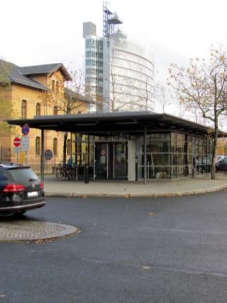 Pförtnerhäuschen des MDR, Altenburger Straße