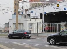Pförtnerhäuschen am Straßenbahnhof Möckern