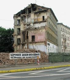 Auch im Buch: Die 2005 abgerissene Kleine Funkenburg