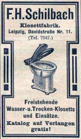 Aus dem Leipziger Adressbuch von 1909