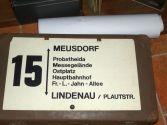 Ein Schild der 15