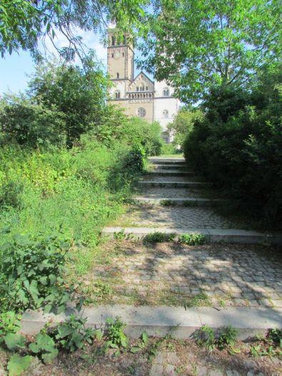 Blick zur Taborkirche
