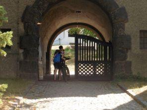 Eingang am Wasserturm