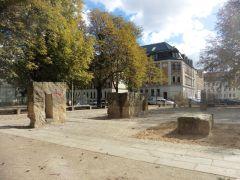Gellertplatz in Lindenau