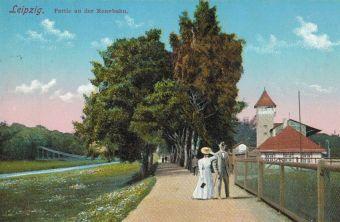 An der Rennbahn vor über 100 Jahren