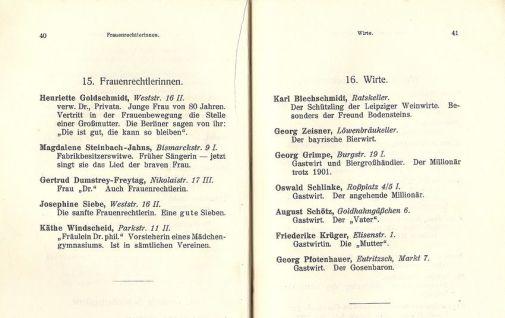Leipzig und die Leipziger, Innenseitenbeispiel