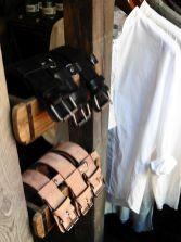 Gürtel und Hemden