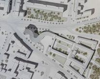 Der Johannisplatz von oben (Entwurf Thilo Rohländer)