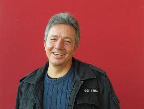 Der Leipziger Schriftsteller Uwe Stöß
