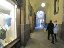 Durchgang von der Reichsstraße zum Naschmarkt