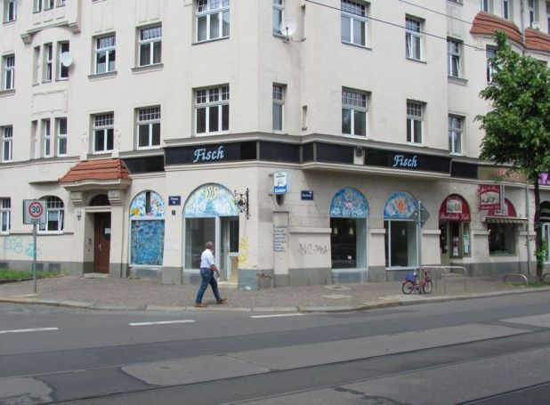 Gorki- / Ecke Zittauer Straße im Mai 2012