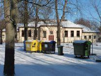 Historische Turnhalle (?) an der 24. Schule