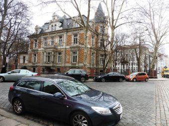 Willmar Schwabes Villa, Kohlgartenstraße