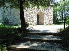 Historische Kirche in Thekla