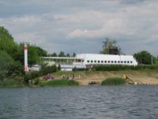 Schiff am Kulkwitzer See, Mai 2012