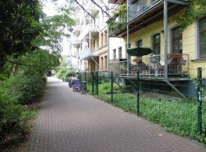 Dort, wo die Fahrräder stehen