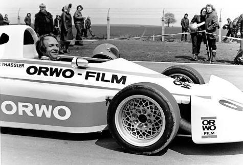 Rennfahrer Hartmut Thaßler (Foto: Archiv Hartmut Thaßler)