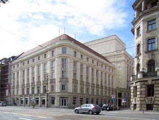 Schauspielhaus bzw. Centraltheater 2013 (Dittrichring)