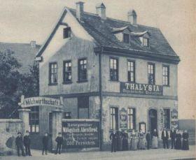 Speisehaus Thalysia 1889 (aus Thalysia-Monatshefte März 1938)
