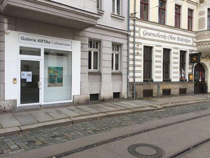 Zusätzlicher Showroom in der Menckestraße