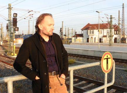 Michael Schweßinger 2019 hinterm Hauptbahnhof