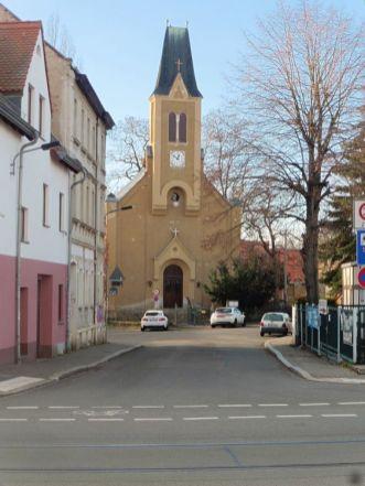 Gethsemanekirche in Lößnig