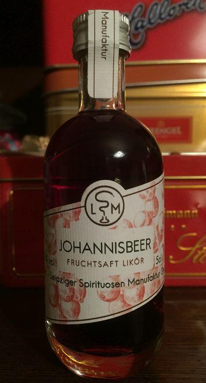 Likör aus der Leipziger Spirituosen-Manufaktur (LSM)