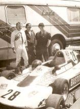 1990 in Most, Henry, Peter und Heiko (v.li.), Foto: Henry Schöne