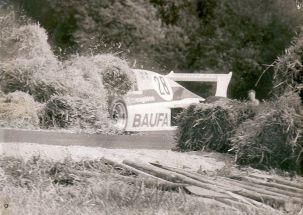 Im Stroh, Rödertal 1989, Foto: Henry Schöne