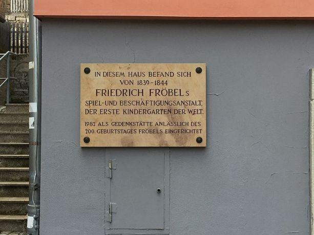 Der allererste Kindergarten in Bad Blankenburg