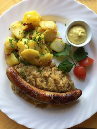 Thüringer Bratwurst in Königsee