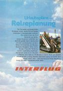 Interflug-Anzeige im '75er Reisekatalog