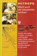 Mitropa-Anzeige im '75er Reisekatalog