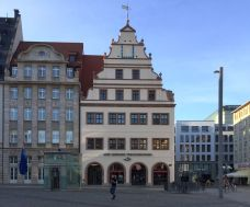 Im Erdgeschoss der Alten Waage saß das Reisebüro der DDR
