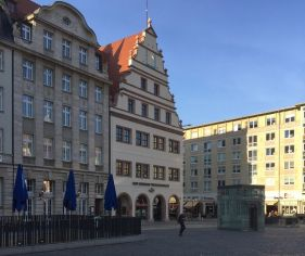 In der Alten Waage saß das Reisebüro der DDR