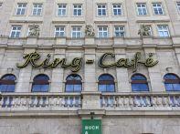 Das Ring-Café im April 2020