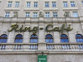 Das Ring-Café im April 2020